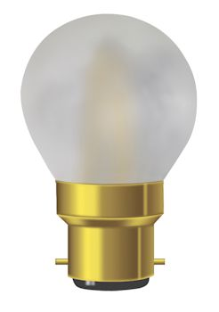 Sphérique satiné filament LED 4W B22 dimmable girard Sudron