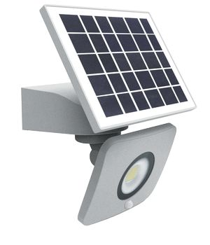 Projecteur solaire IP65 Led 10W Shuttle SLIM